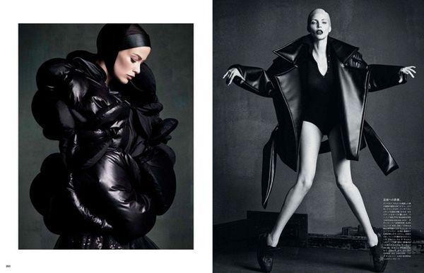 VIVA MODELS: Nadja Auermann for Vogue Japan September 2014