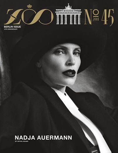 VIVA MODELS: Nadja Auermann for Zoo Magazine #45