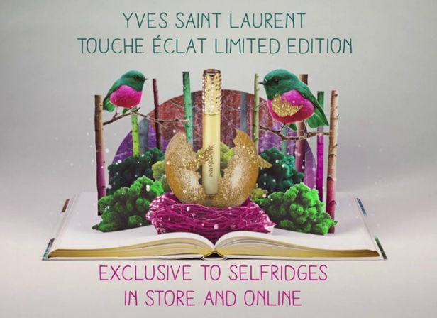 ADAMSKY :  Katy Beveridge (Set Design) for Selfridges Christmas Beauty Campaign
