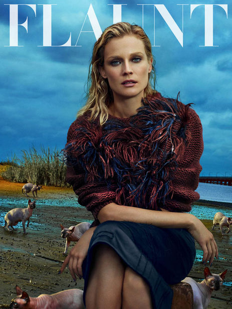 HUNTER & GATTI : Diane Kruger for FLAUNT