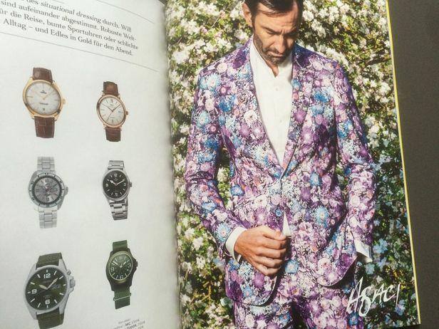 ABACI S/S 2015 - Blütenzauber GQ Style