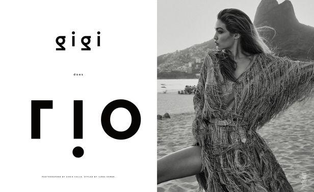 PRODUCTION BERLIN / LA : Gigi Hadid for ELLE US
