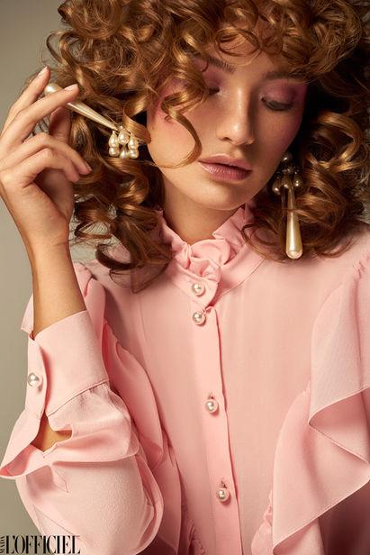 ANSCHI URBAS / HAIR MAKE-UP - L´OFFICIEL LATVIA