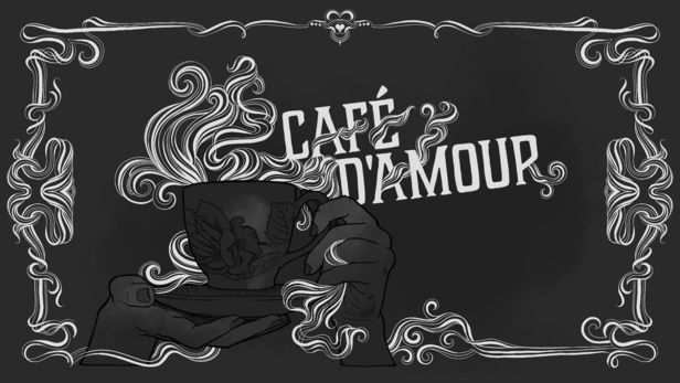 Cafe D'amour Title Cards