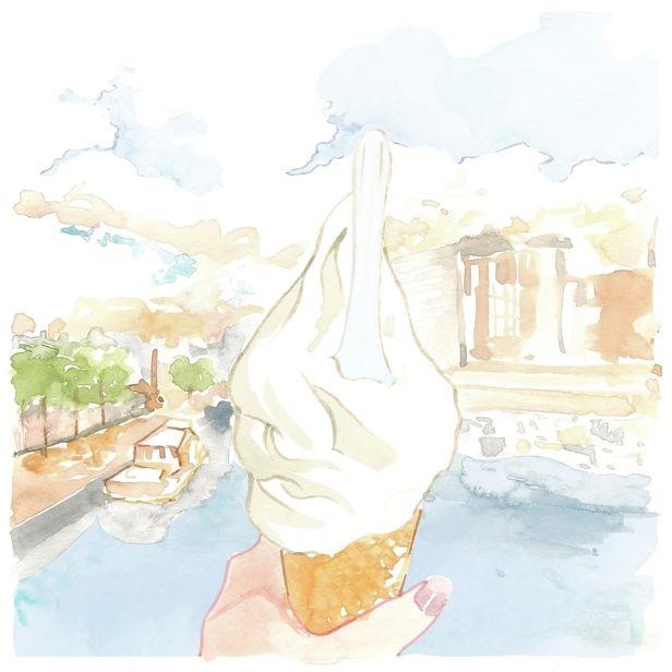 COSMOPOLA Illustration Artist - Francesco Lo Iacono -  The Holborn, Ice