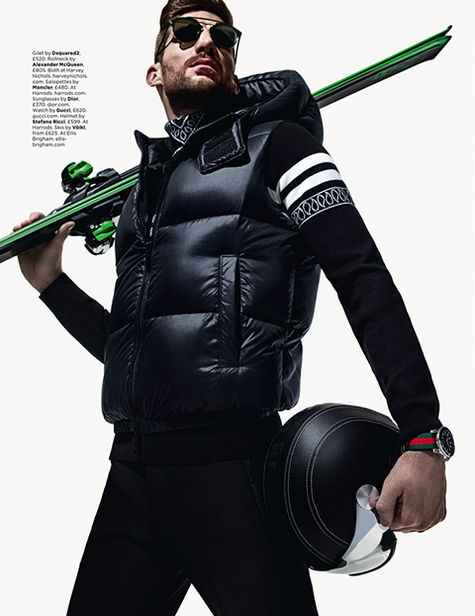 DARLING CREATIVE: MATTHEW SHAVE for GQ