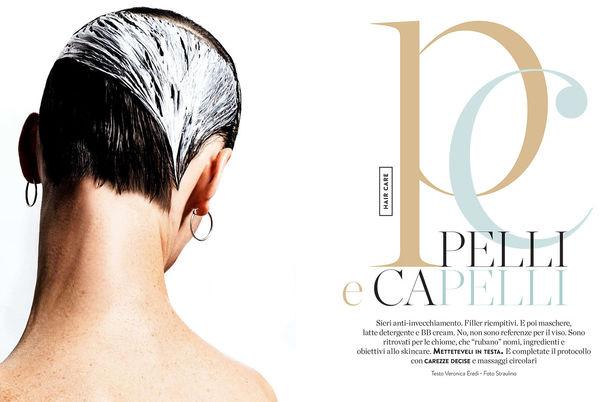 NINA KLEIN, Hair & Make Up: Melanie Schoene, Photography : Straulino für AMICA