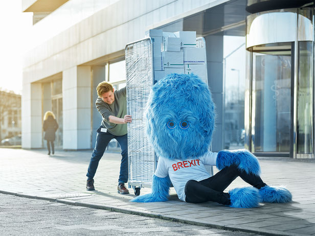 "SEVERIN WENDELER: ""Brexie"" Campaign for Rijksoverheid - Photography by Jaap Vliegenthart c/o Severin Wendeler"