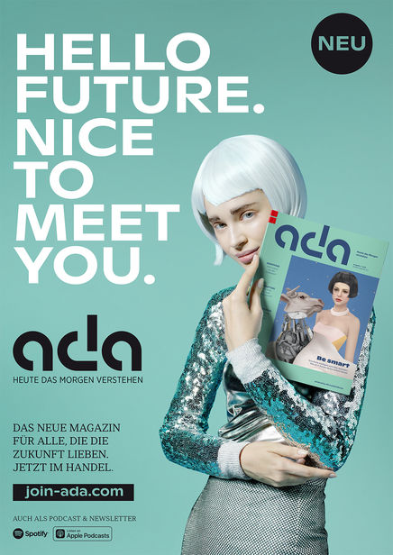 ROCKENFELLER & GöBELS: ADA MAGAZINE POWERED BY WIRTSCHAFTSWOCHE BY FRANK SCHEMMANN