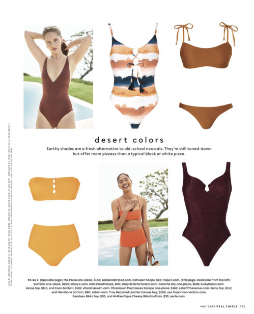 ALYSSA PIZER MANAGEMENT: Ericka McConnell For Real Simple Magazine
