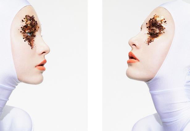 "TIM PETERSEN, Cocoon Magazine, ""Starchild"" Beauty Editorial"