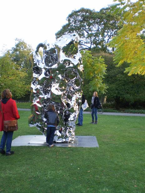 Frieze Sculpture Garden - Artificial Rock No.16 by Zhan Wang