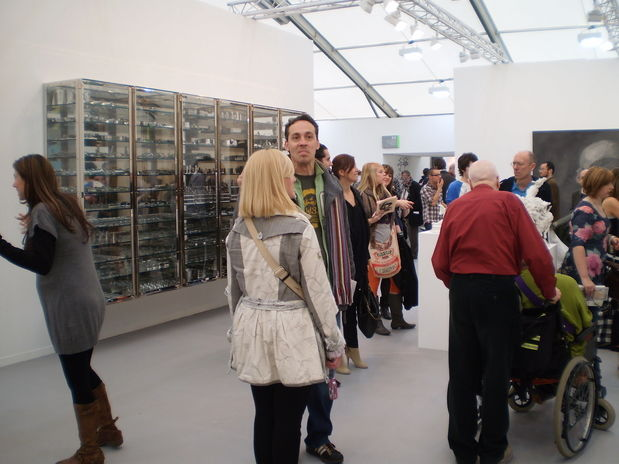 Frieze : Damien Hirst at White Cube