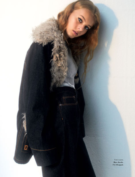 SARA BILLE for GLAMOUR Paris