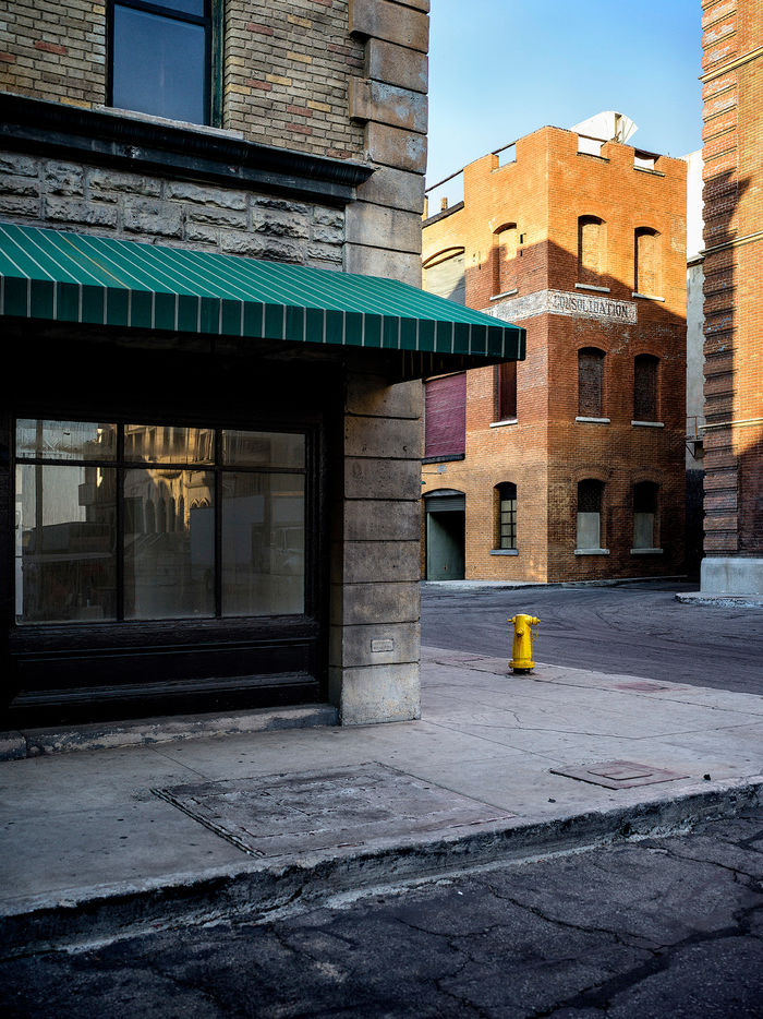 HAUSER FOTOGRAFEN: LEIF SCHMODDE - New York Backlot, Paramount Studios, Hollywood, Los Angeles