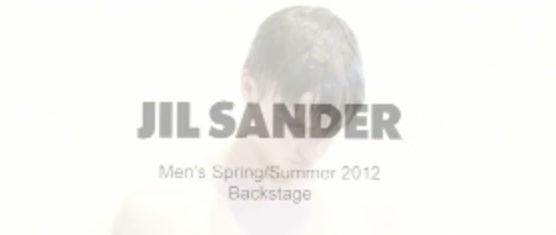 CAMERALINK : Thomas Klementsson - Backstage Jil Sander S/S 2012