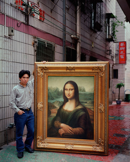REAL FAKE ART by Michael Wolf